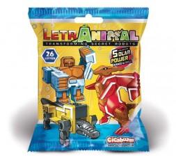 LetrAnimal Solar Power Collection Dino