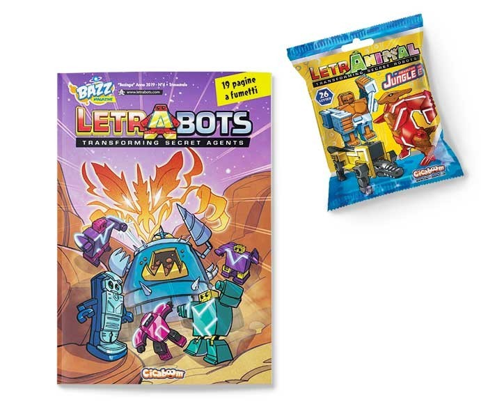 Letrabots 02: Big Robots Mok e il Burattinaio Cibernetico