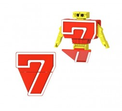 Letrabots Numbers Combo Big...
