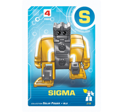 Letrabots Combo Big Robot ZUR S Sigma + punto e virgola