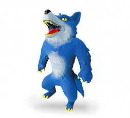 Elastikorps | Blue Wolfy