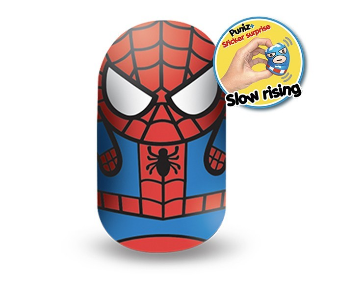 Marvel Puniz Squishy Battle | Spider Man