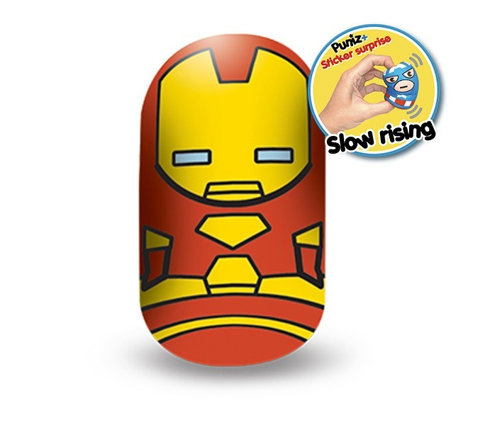 Marvel Puniz Squishy Battle | Iron Man