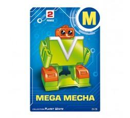 Letrabots Planet White | M Mega Mecha