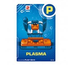 Letrabots Planet White | P Plasma