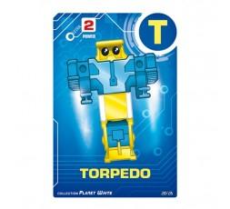Letrabots Planet White | T Torpedo