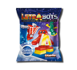 Letrabots Planet White | Z Zed