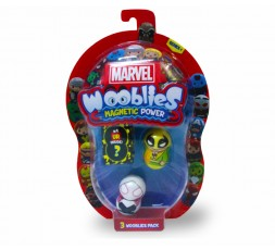 Marvel Wooblies | Blister 3 pz