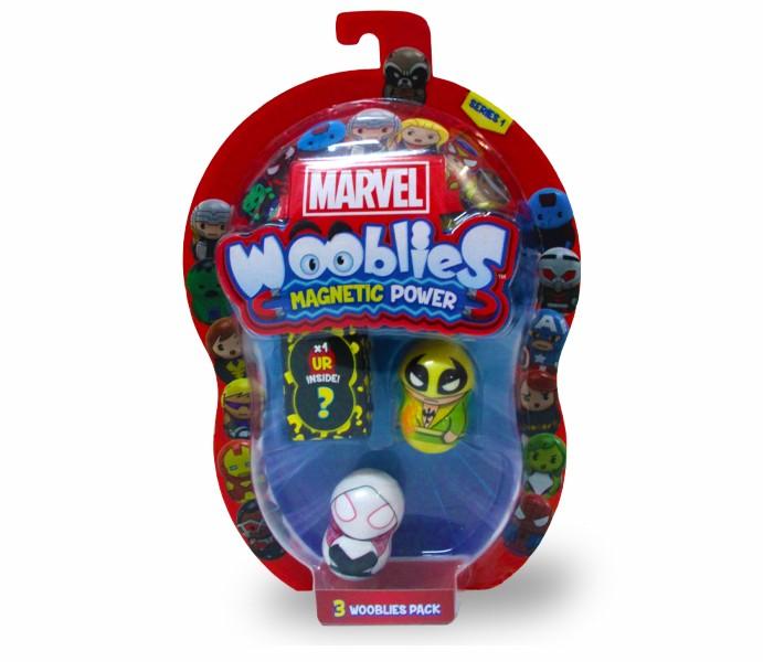 Marvel Wooblies | Blister 3 pz