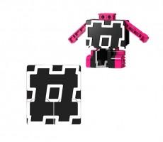Letrabots Combo Big Robot MOK   HashTag