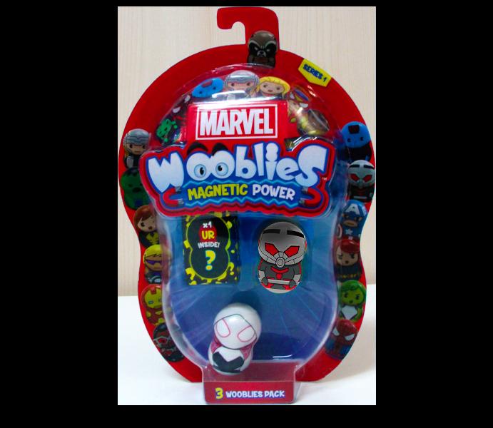 Marvel Wooblies   Blister 3 pz - Antman