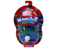 Marvel Wooblies   Blister 3 pz - Black Panther