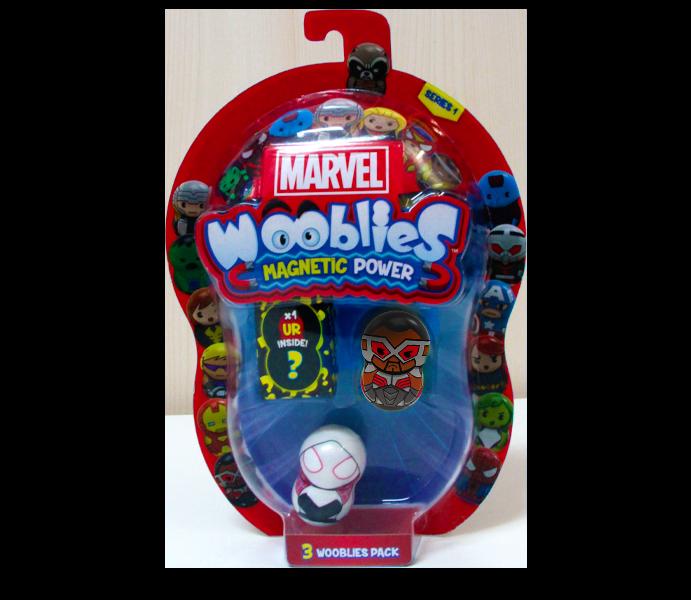 Marvel Wooblies   Blister 3 pz - Falcon