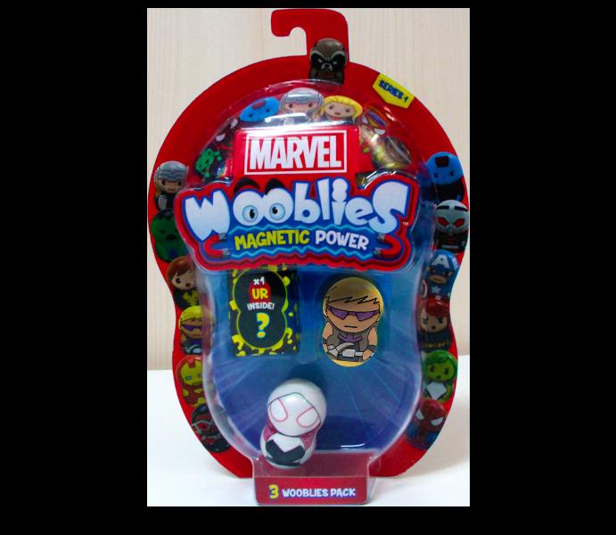 Marvel Wooblies   Blister 3 pz - Hawkeye
