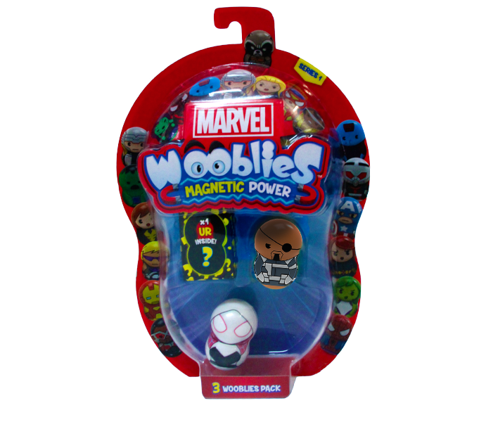 Marvel Wooblies | Blister 3 pz - Nick Fury