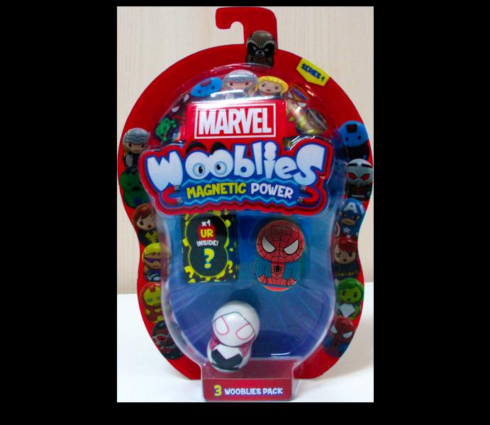 Marvel Wooblies | BLister 3 pz - Spiderman