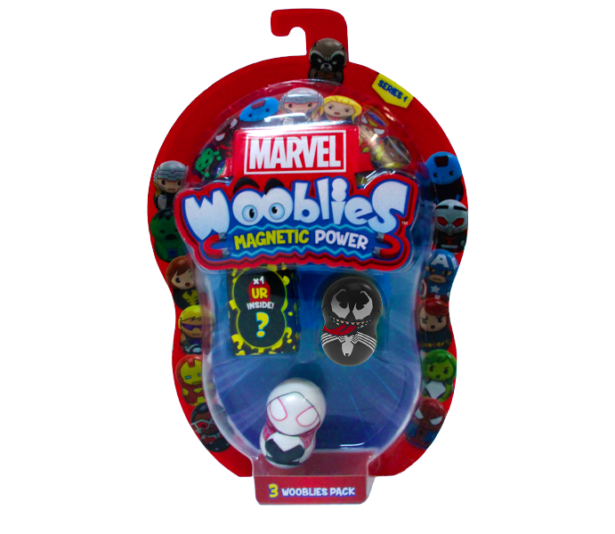 Marvel Wooblies | Blister 3 pz - Venom