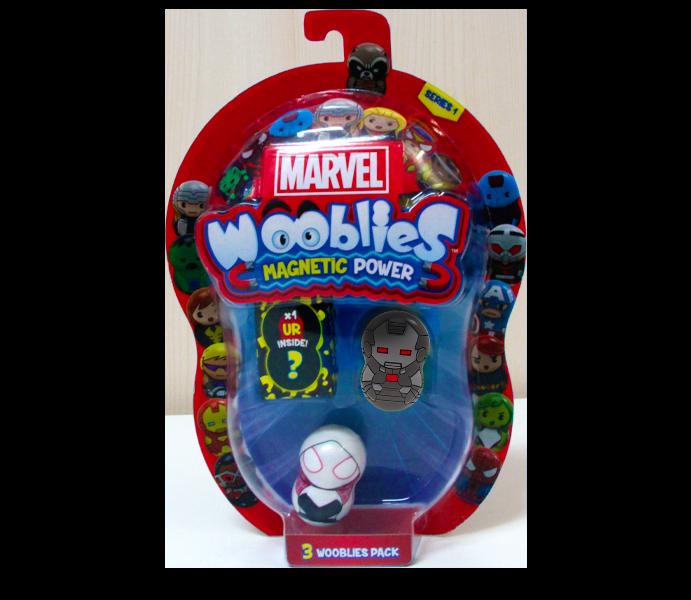 Marvel Wooblies   Blister 3 pz - Warmachine