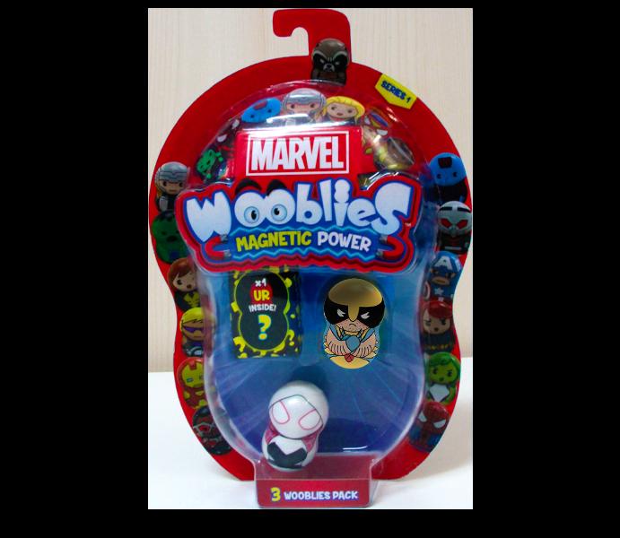 Marvel Wooblies | Blister 3 pz - Wolverine