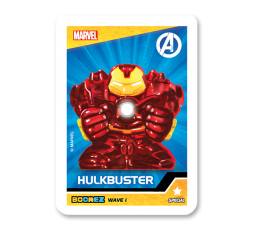 Marvel Boomez   Hulkbuster speciale CHROME