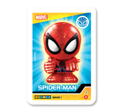 Marvel Boomez | Spider-Man speciale METAL occhi GLOW IN THE DARK