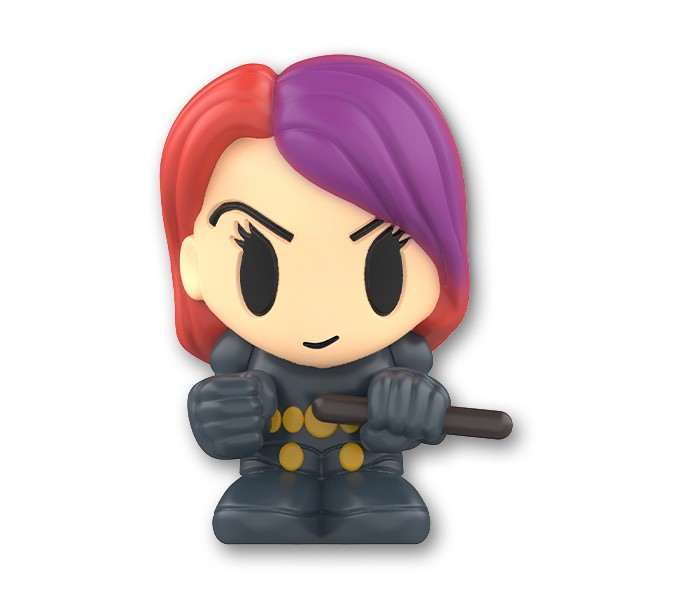 Marvel Boomez   Black Widow speciale UV CHANGING COLOR