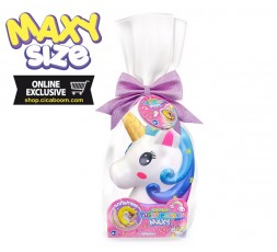 Pushy Pushy Squishy   Maxi Testa di Unicorno