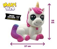 Pushy Pushy Squishy | Maxi Unicorno Seduto