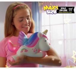Pushy Pushy Squishy   Maxi Flying Unicorn
