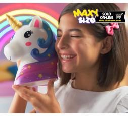 Pushy Pushy Squishy | Maxi Testa di Unicorno