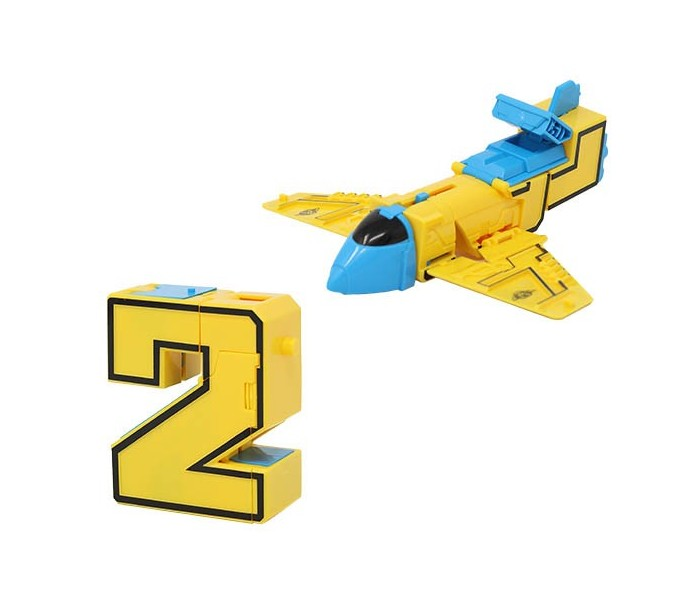 Numberbots | 2 Jet