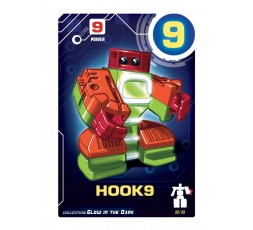 Letrabots Numbers Combo Big Robot 9 Hook9