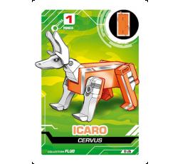 LetrAnimal Fluo Collection Icaro
