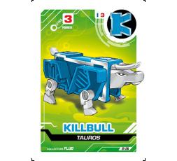 LetrAnimal Fluo Collection Killbull