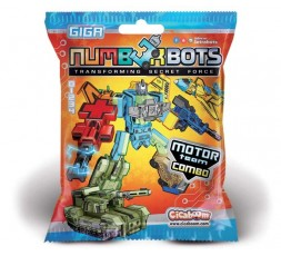 Numberbots | 5 Semi + minus