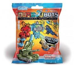 Numberbots | 9 Quad + uguale