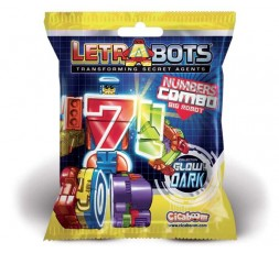 Letrabots Numbers Combo Big Robot 4 H4mmer