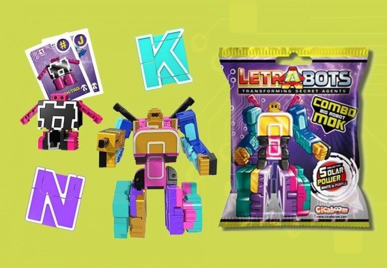 Letrabots Combo Big Robot MOK Collezione | Shop Cicaboom