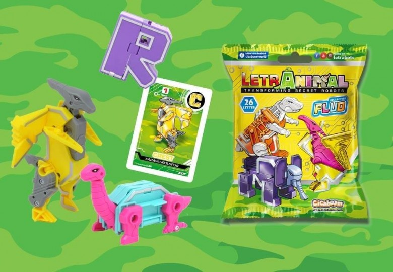 LetrAnimal Fluo Collection animali giocattolo | Shop Cicaboom