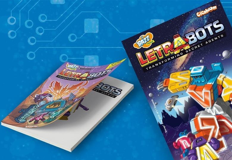 Letrabots' adventures comics| Shop Cicaboom