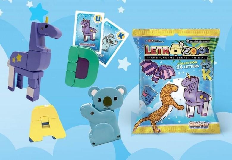 Letrazoo lettere animali giocattolo | Shop Cicaboom