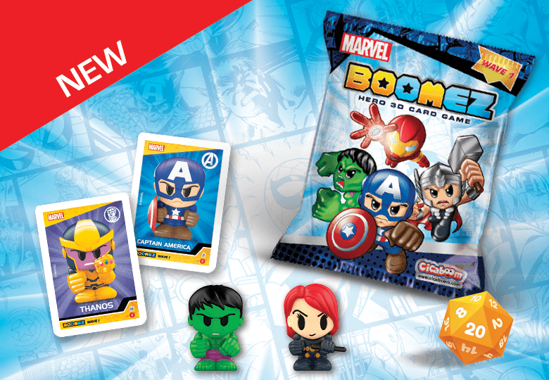 Marvel Boomez 3D game | Shop Cicaboom