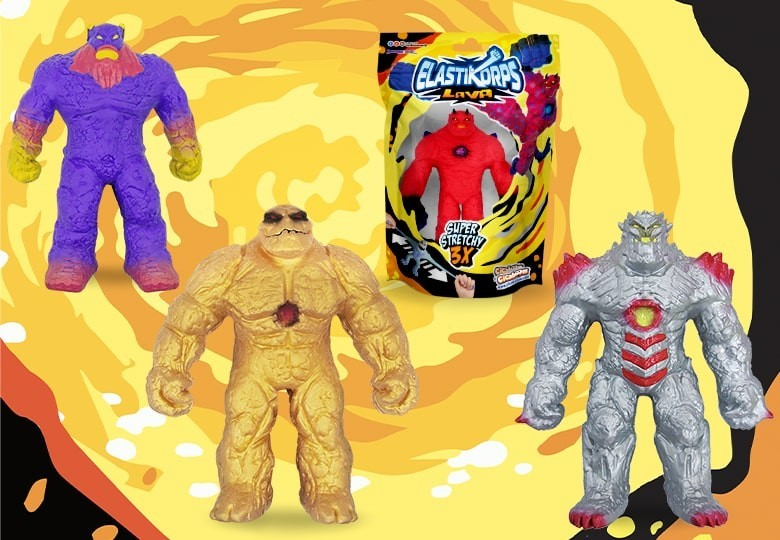 Elastikorps Lava giant toy golems | Shop Cicaboom