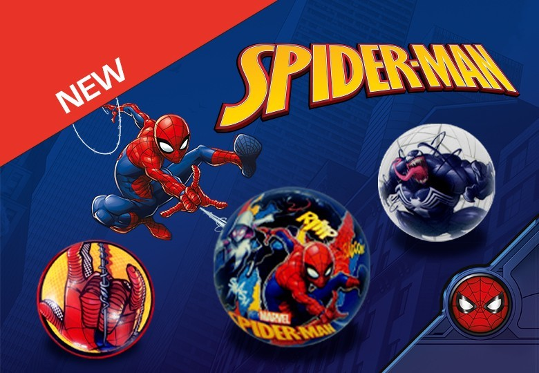 Marvel Spider-man Pu Balls | Shop Cicaboom