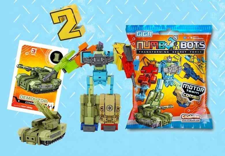 Numberbots numeri robot giocattolo | Shop Cicaboom