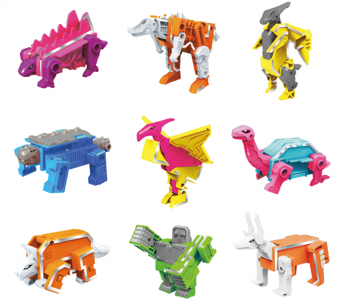 Letranimal Fluo Collection | Jungle 1