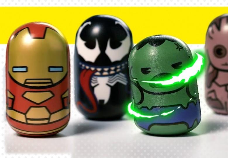 Marvel Puniz Squishy battle | Shop Cicaboom