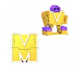 Letrabots Combo Big Robot MOK | M Mida