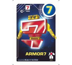 Letrabots Numbers Combo Big Robot 7 Armor7