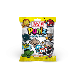 Marvel Puniz Squishy Battle   Black Panter